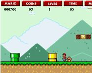 Super Flash Mario Bross j�t�k